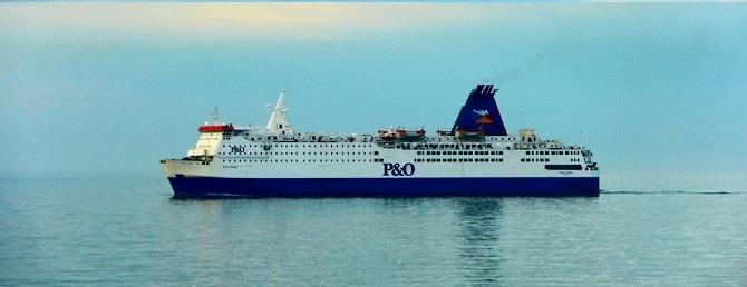 P&O Ferries ustanawia rekord przewozów z Zeebrugge - GospodarkaMorska.pl
