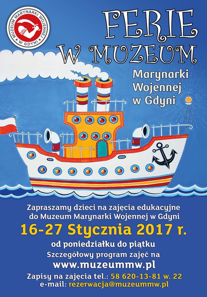 Dla dzieci: ferie w Muzeum Marynarki Wojennej w Gdyni - GospodarkaMorska.pl