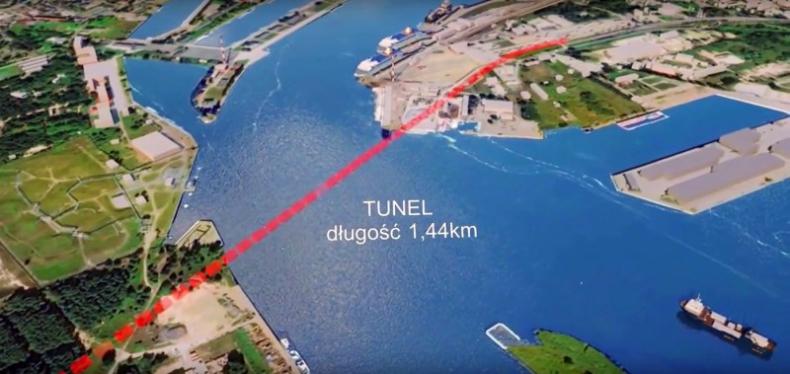 Świnoujście dostało pieniądze z UE na tunel łączący wyspy Uznam i Wolin - GospodarkaMorska.pl