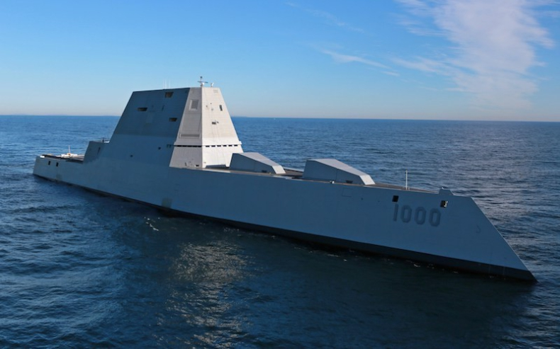 Najważniejsze statki 2016 roku: USS Zumwalt - GospodarkaMorska.pl