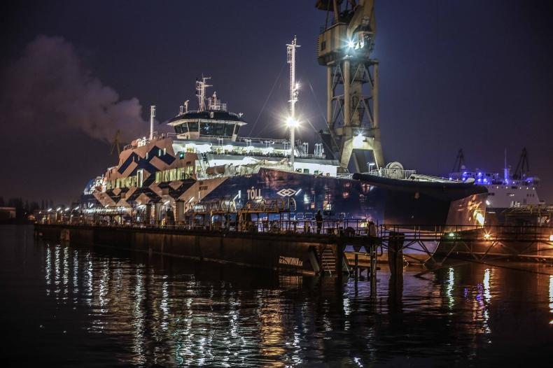 Remontowa Shipbuilding: Toll w drodze do Estonii - GospodarkaMorska.pl