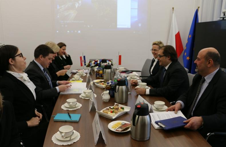 Ministrowie resortów gospodarki morskiej Polski i Chorwacji podpisali memorandum o współpracy - GospodarkaMorska.pl