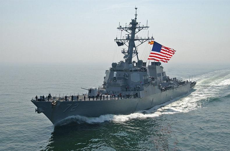 Niszczyciel USA oddał strzały ostrzegawcze w kierunku irańskich okrętów - GospodarkaMorska.pl