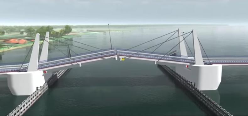 W poniedziałek ruszają prace budowlane przy budowie mostu na Wyspę Sobieszewską - GospodarkaMorska.pl