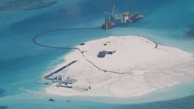 Trump zaostrza politykę wobec Chin w sprawie wysp Morza Południowochińskiego - GospodarkaMorska.pl