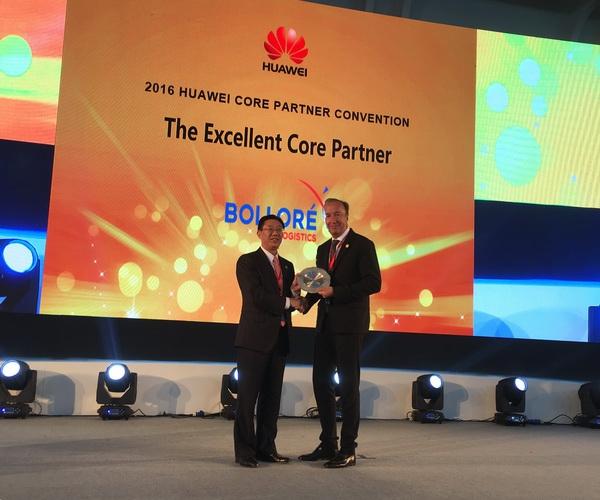 Bolloré Logistics nagrodzony przez Huawei - GospodarkaMorska.pl