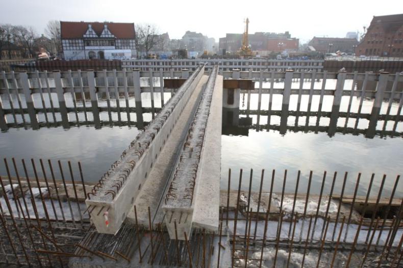 Kładka na Ołowiankę: w lutym dotrą do Gdańska elementy zwodzonej części mostu - GospodarkaMorska.pl