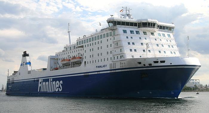 Finnlady – najdłuższy w tym roku prom opuścił stocznię Remontową - GospodarkaMorska.pl