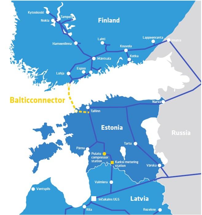 Polacy pomogą przy budowie gazociągu pomiędzy Finlandią a Estonią - GospodarkaMorska.pl