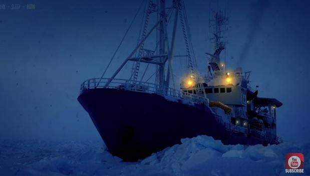 Tak brzmi zamarznięta Arktyka (wideo) - GospodarkaMorska.pl