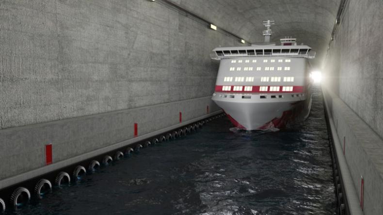 Pierwszy tunel dla statków powstanie u wybrzeży Norwegii - GospodarkaMorska.pl