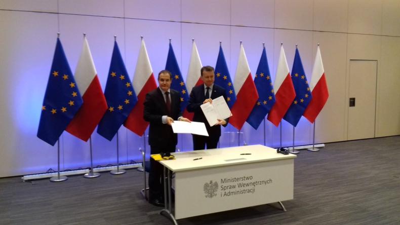 MSWiA: rząd przekaże działkę na siedzibę Frontexu - GospodarkaMorska.pl