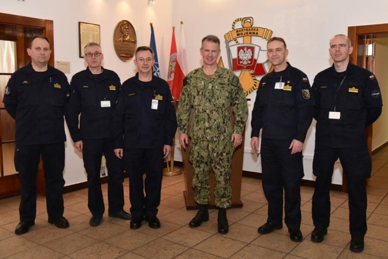 Admirał Matt Zirkle z wizytą w 3. Flotylli Okrętów - GospodarkaMorska.pl