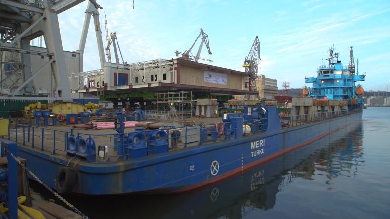 Kolejny moduł jednej z największych na Morzu Północnym platform powstał w Gdyni (foto, wideo) - GospodarkaMorska.pl