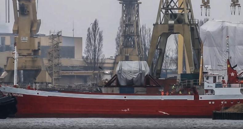 Moduł największej w Polsce turbiny parowej dotarł do Szczecina (wideo) - GospodarkaMorska.pl