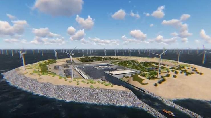 Sztuczna wyspa na Morzu Północnym ma dostarczać energię do Europy - GospodarkaMorska.pl