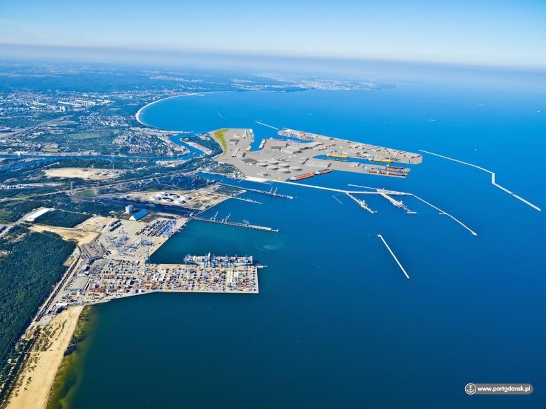 Ministrowi Gospodarki Morskiej zaprezentowano plany rozwoju Portu Gdańsk - robią wrażenie - GospodarkaMorska.pl