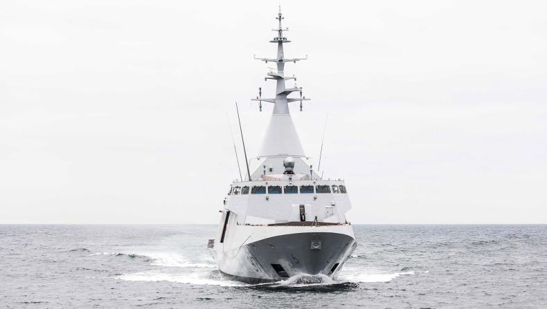 Korweta Gowind 2500 na próbach morskich (wideo) - GospodarkaMorska.pl
