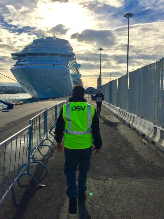 DSV obsługuje statki wycieczkowe - GospodarkaMorska.pl