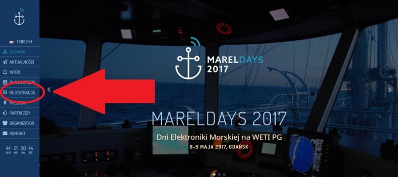 Już za miesiąc ruszają Dni Elektroniki Morskiej. Zarejestruj swój udział w MARELDAYS 2017 - GospodarkaMorska.pl