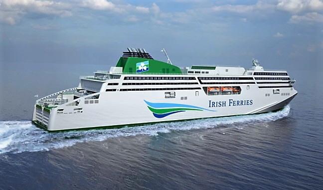 Uroczyste cięcie blach pod nowy prom dla Irish Ferries - GospodarkaMorska.pl