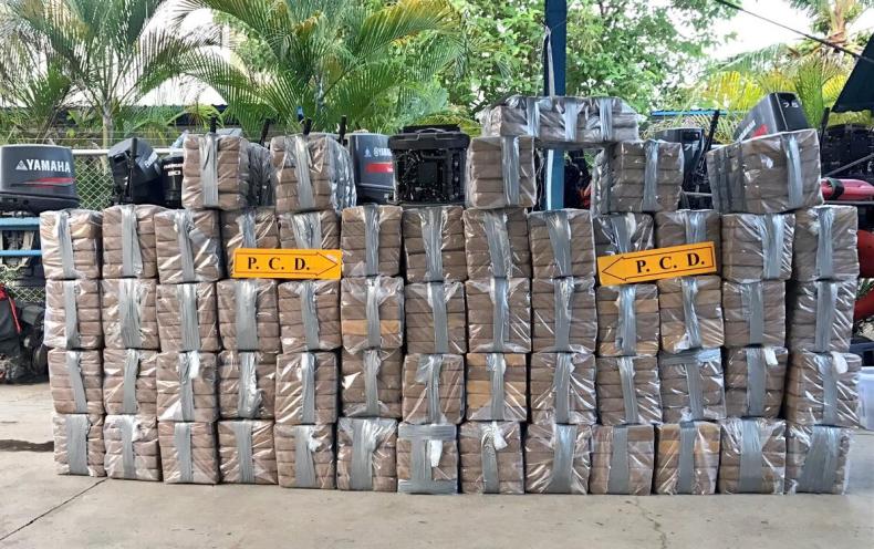 Skonfiskowano ponad tonę przemycanej kokainy - GospodarkaMorska.pl