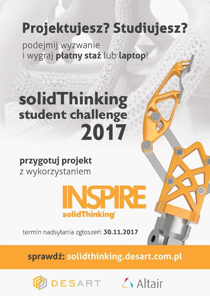 Studiujesz? Projektujesz? Podejmij wyzwanie i weź udział w konkursie solidThinking Student Challenge 2017 - GospodarkaMorska.pl