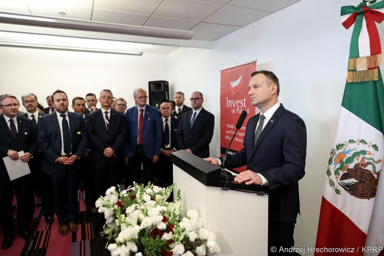 Prezydent RP: biuro handlowe w Meksyku będzie służyło polskim przedsiębiorcom - GospodarkaMorska.pl