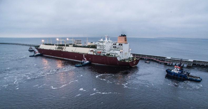 Kurtyka ME: dostawy amerykańskiego LNG to przełom - GospodarkaMorska.pl