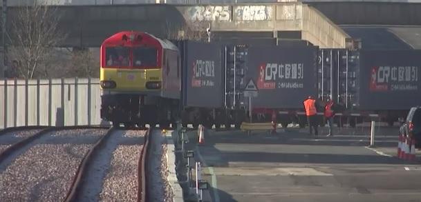 Pierwszy pociąg towarowy z Wielkiej Brytanii dotarł do Chin - GospodarkaMorska.pl