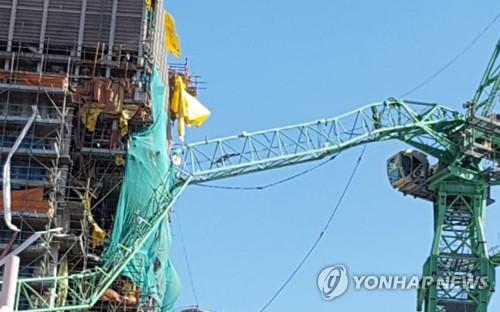 6 osób nie żyje, kilkadziesiąt zostało rannych. Wypadek w południowokoreańskiej stoczni (wideo) - GospodarkaMorska.pl