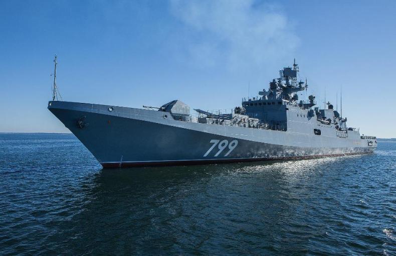 Polski okręt zbliżył się do rosyjskiej fregaty - medialny szum czy propagandowa farsa? - GospodarkaMorska.pl