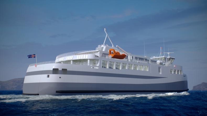 W stoczni Crist rozpoczęto budowę promu dla Islandii - GospodarkaMorska.pl