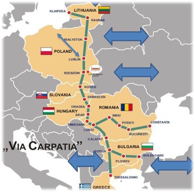Trudna współpraca na rzecz poprawy infrastruktury w Europie Środkowej - GospodarkaMorska.pl