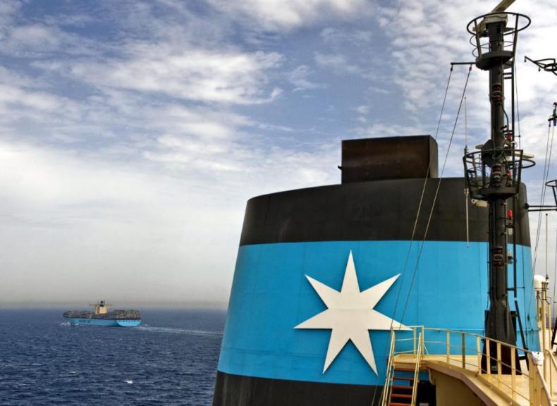 Maersk zakończył pierwszy kwartał ze spodziewanym zyskiem - GospodarkaMorska.pl