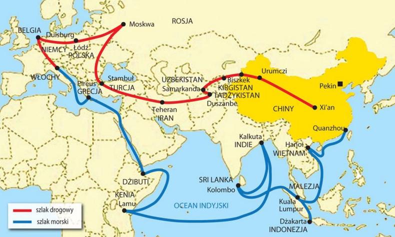 """""""Pas i Szlak"""" - wątpliwości odnośnie strategicznych celów Chin - GospodarkaMorska.pl"""