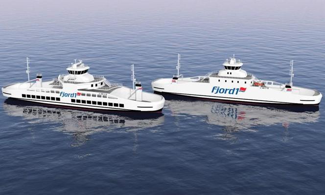 Fjord1 z koncesją na obsługę kluczowych połączeń w Norwegii. Firma zamówi pięć nowych promów - GospodarkaMorska.pl