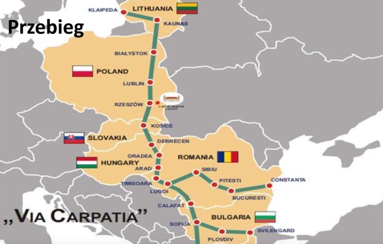 Cała trasa Via Carpatia na terenie Polski ma być gotowa do 2025 r. - GospodarkaMorska.pl
