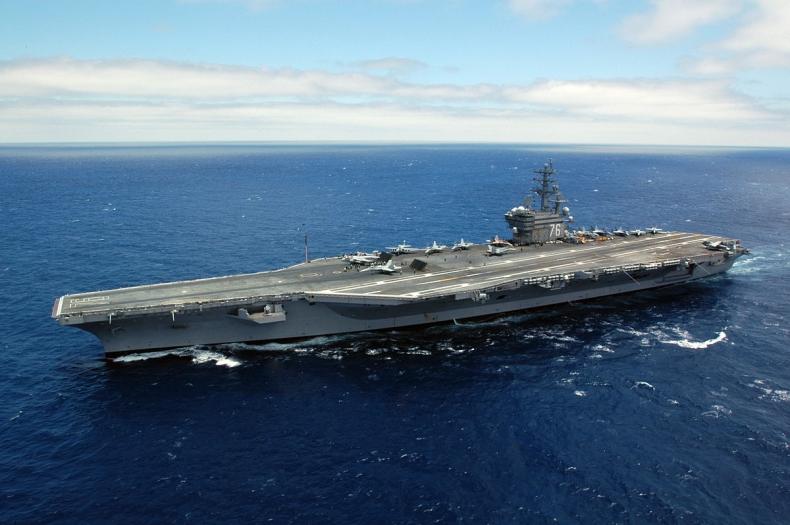 CNN: drugi lotniskowiec USA patroluje koło Półwyspu Koreańskiego - GospodarkaMorska.pl