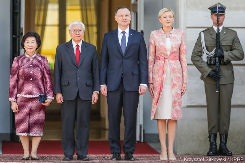Prezydenci Polski i Singapuru otwarci na zacieśnianie relacji gospodarczych - GospodarkaMorska.pl