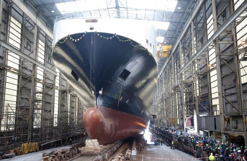 Wodowanie kolejnej nowej jednostki dla DFDS już w czerwcu - GospodarkaMorska.pl
