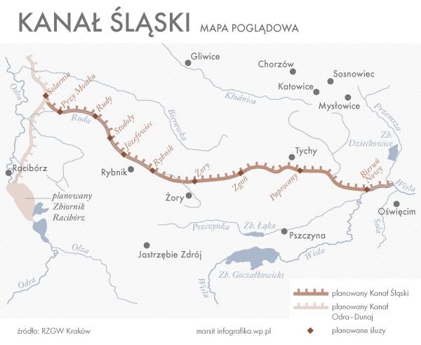 Rząd nie zrezygnował z budowy Kanału Śląskiego - GospodarkaMorska.pl