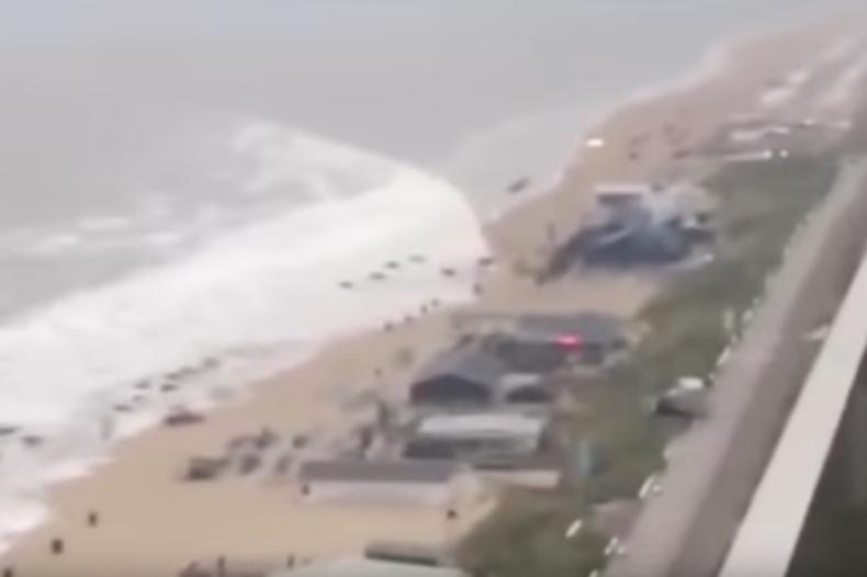 Idziesz na plażę, a tu... (wideo) - GospodarkaMorska.pl