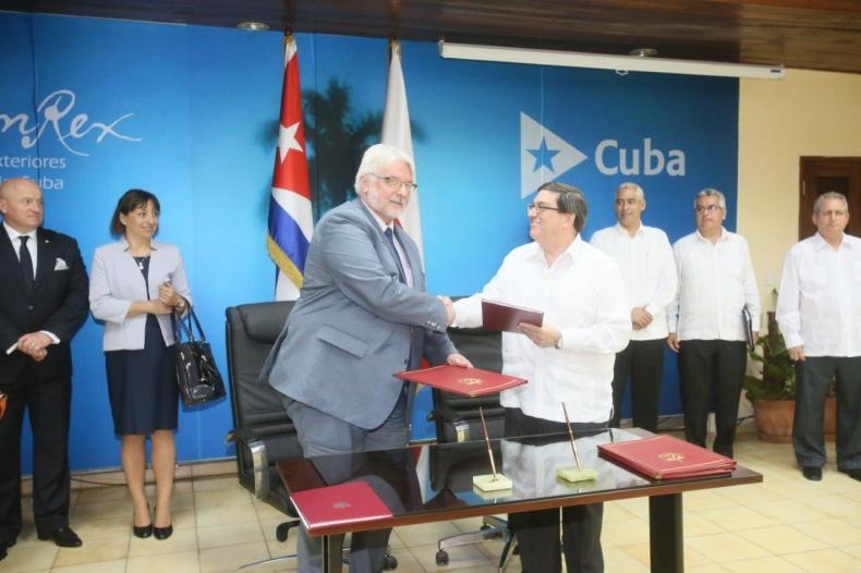 Parafowano umowę o transporcie morskim z Kubą - GospodarkaMorska.pl