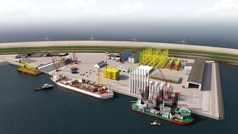 To pierwszy taki obiekt w Europie. Rotterdam z nową bazą dla firm offshore - GospodarkaMorska.pl