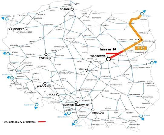 Pierwszy odcinek Rail Balitca w Polsce już gotowy - GospodarkaMorska.pl