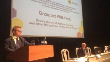 Grzegorz Witkowski w Mińsku wziął udział w ministerialnym spotkaniu Inicjatyw Środkowoeuropejskich - GospodarkaMorska.pl