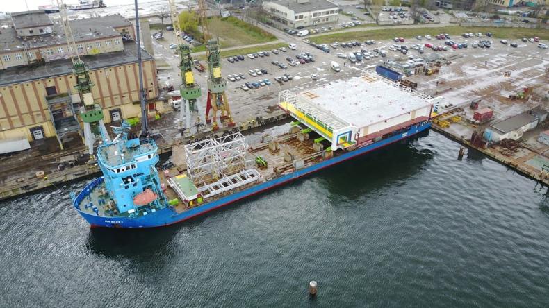 Konstrukcja stalowa od Zamet Industry trafi na norweską platformę na Morzu Północnym - GospodarkaMorska.pl