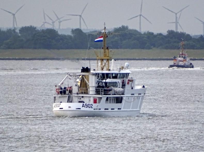 Holenderski okręt szkolny zacumował na Motławie w Gdańsku - GospodarkaMorska.pl