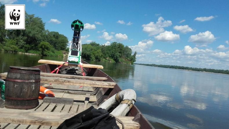 Pierwsze zdjęcia Street View na rzece pokażą piękno Wisły w jej naturalnej postaci - GospodarkaMorska.pl